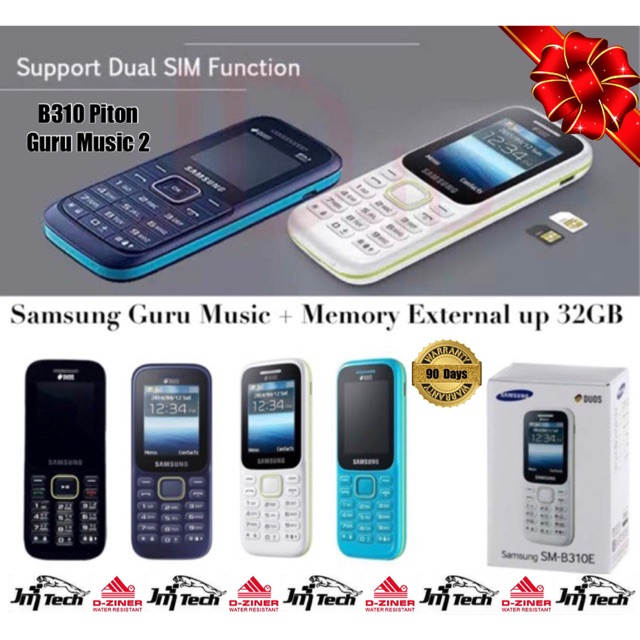 Samsung Sm-B310E / B310 Garansi Resmi Samsung Indonesia - Putih | Shopee Indonesia