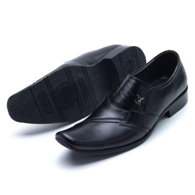Sepatu VS 065 Sepatu Pantofel Formal dan Kasual Pria utk sepatu jalan  santai sekolah kuliah kerja  e11a13f2dd