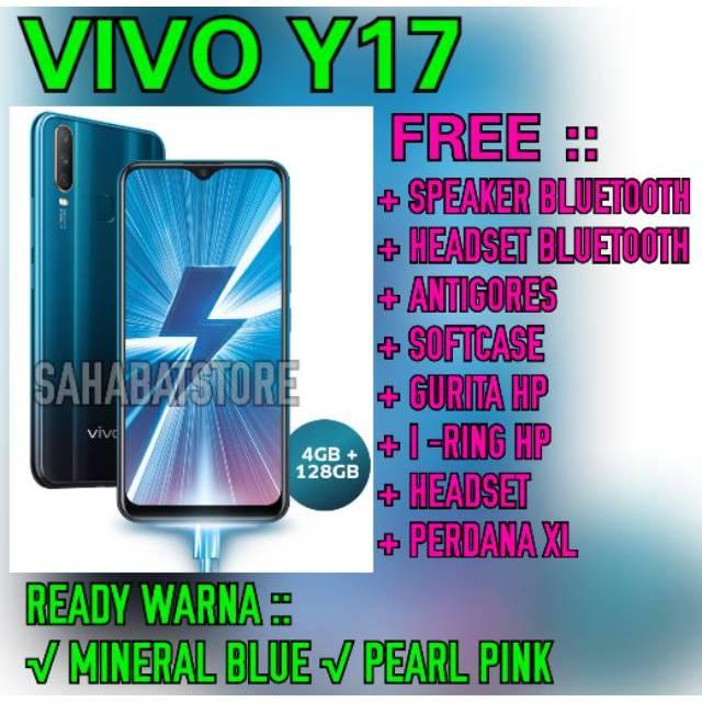 Terlaris Vivo Y17 4 128 Gb Garansi Resmi Vivo Indonesia