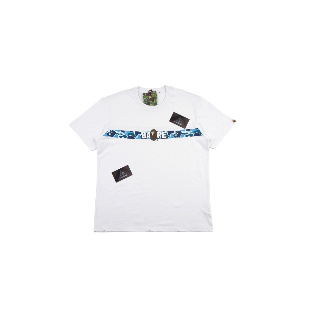 3f6876fd Kaos Bape City Camo Shark Glow In The Dark Mirror Quality 1:1 Original 100%  Cotton | Shopee Indonesia