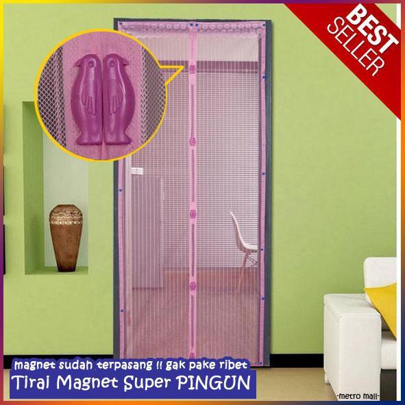 Tirai Magnet Polos | Shopee Indonesia -. Source · Moreno Magic Mesh Tirai Magnet Anti