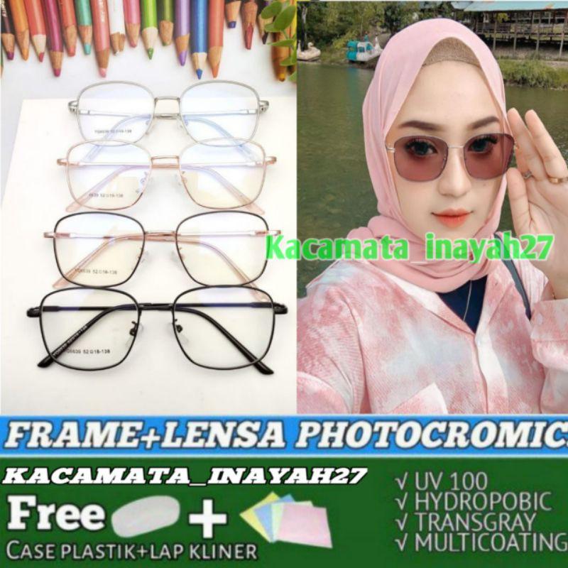 kacamata 6639 lensa photocromic