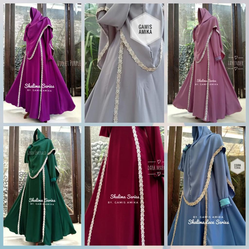 Gamis Amika Mazaya Hijab Korea