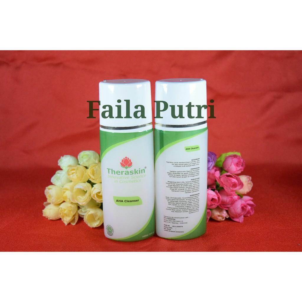 Theraskin Aha Cleanser Shopee Indonesia