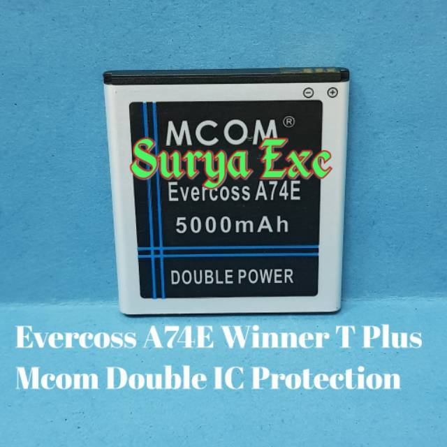Baterai Battery Evercoss Cross Evecoss A74R / Winner X2 Double IC Protection | Shopee Indonesia