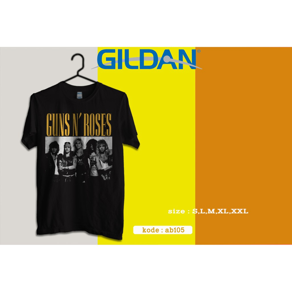 Kaos Guns N Roses Konser Jakarta 2018 Original Gildan Softstyle Gn45 Polos Size Xxl 63000  Shopee Indonesia