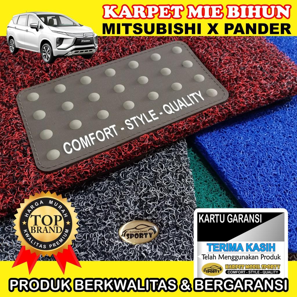 Karpet Karet Lantai Khusus Mitsubishi Xpander Shopee Comport Carpet Nissan March Premium 2cm Indonesia