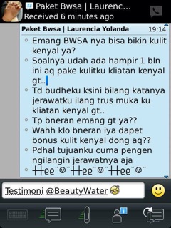 ... WATER (Beauty Water&Strong Acid). suka: 60