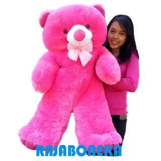 Boneka Beruang Besar Fanta 1 Meter Teddy Bear Panda Jumbo Murah Berkualitas Bahan  Halus Lembut 7026b961d1