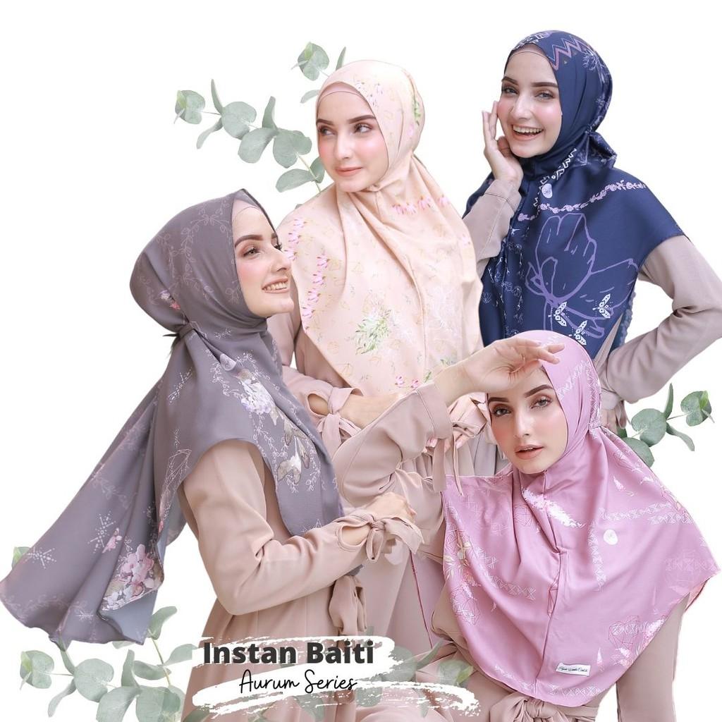 Hijabwanitacantik - Instan Baiti Aurum | Hijab Instan | Jilbab Instan
