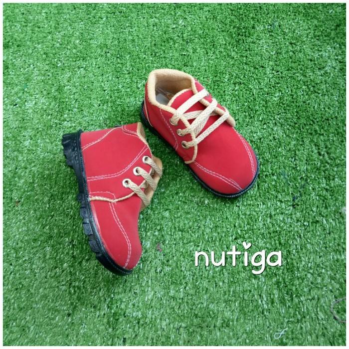 ... Sepatu Prewalker - Sepatu Bayi - Sepatu Anak Napoly Sepatu Boots Bayi -  Baby Boots Murah ... 4de22a118c