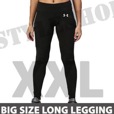 Celana Leging Sport Sepeda Gowes Big Size Xxl Basic Brand Legging Wanita Celana Panjang Training Shopee Indonesia