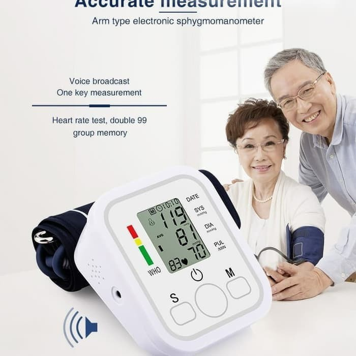 Tensimeter Digital Bukan Omron Alat Ukur Tensi Tekanan Darah