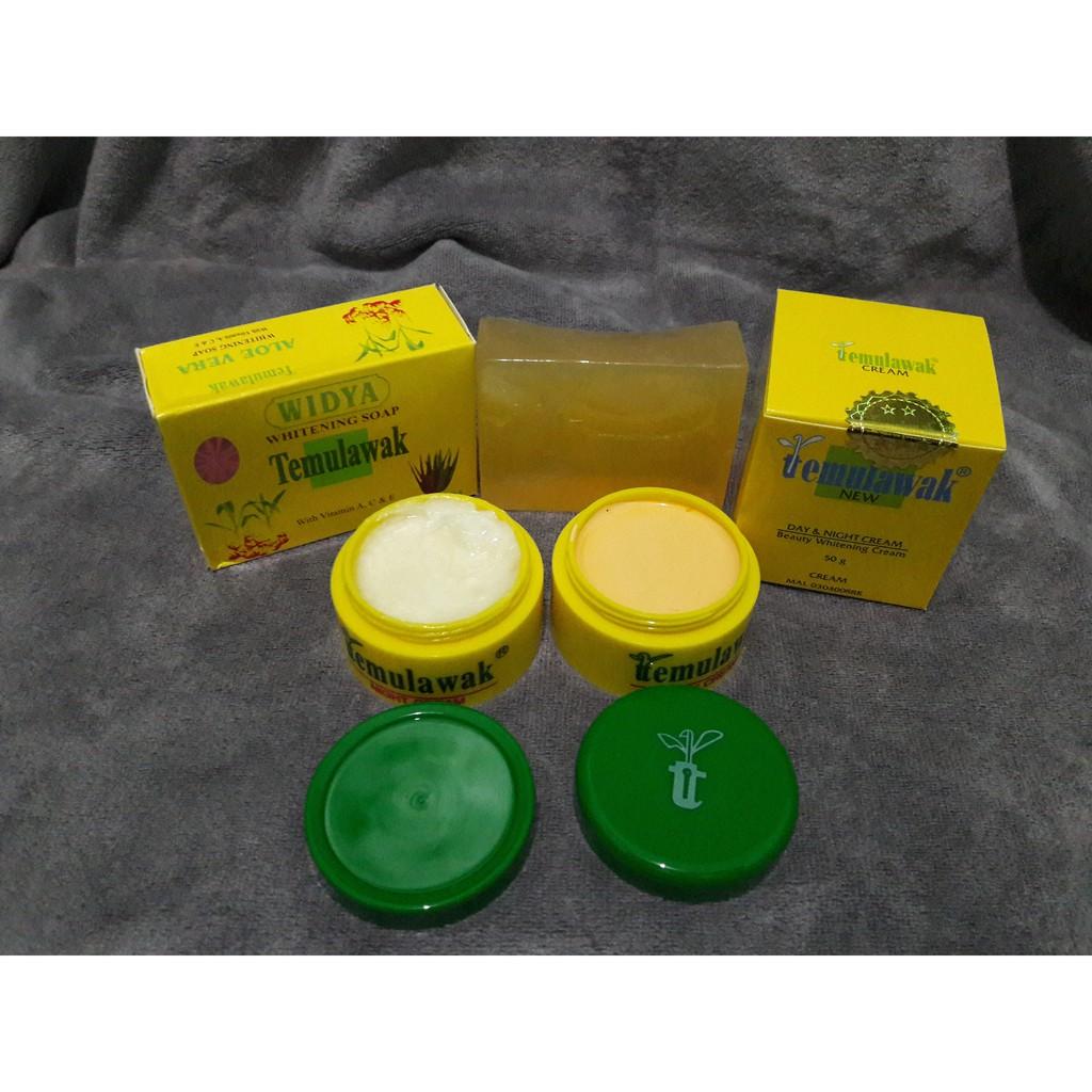 Paket Cream Temulawak Day Night Holo Super Dan Sabun Widya Krim Pot Kuning Original Emas Pink Shopee Indonesia