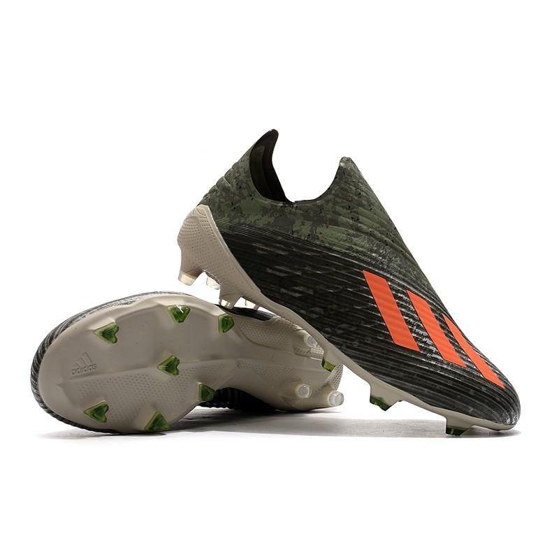 Adidas Tanpa Tali Sepatu X 19 Fg Pria Dan Wanita Sepatu Bola Pria