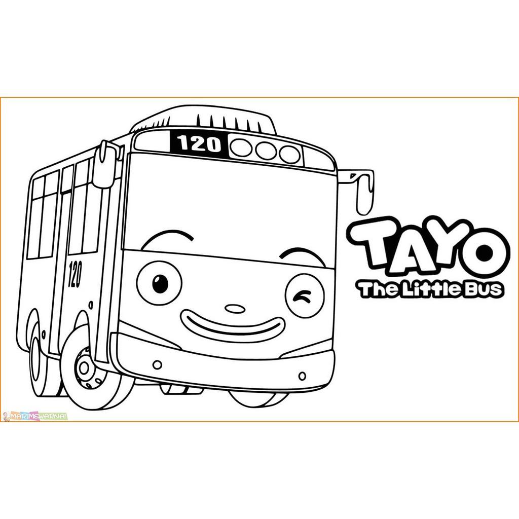 Kertas Mewarnai Gambar Karakter Kartun Anak Warna 100 Lembar