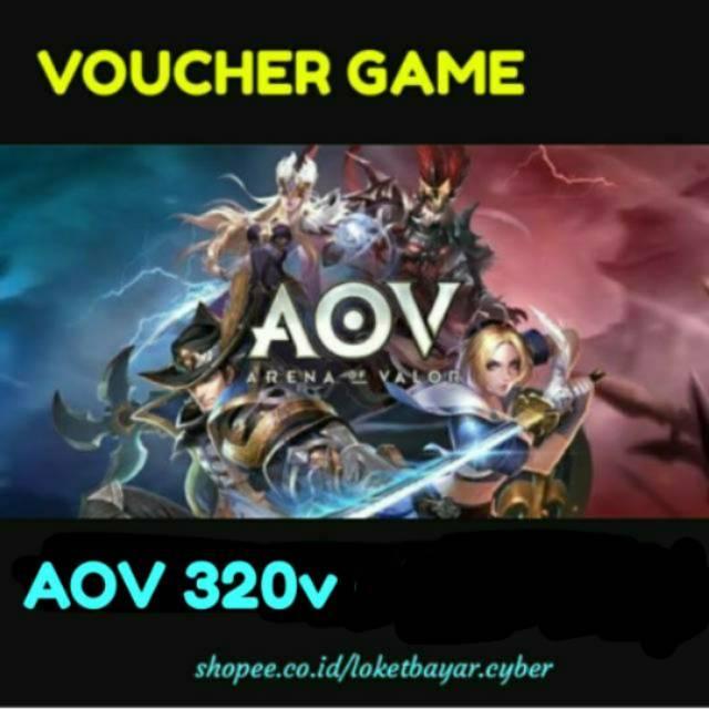 Topup AOV 320 voucher (Topup Resmi Arena of Valor)