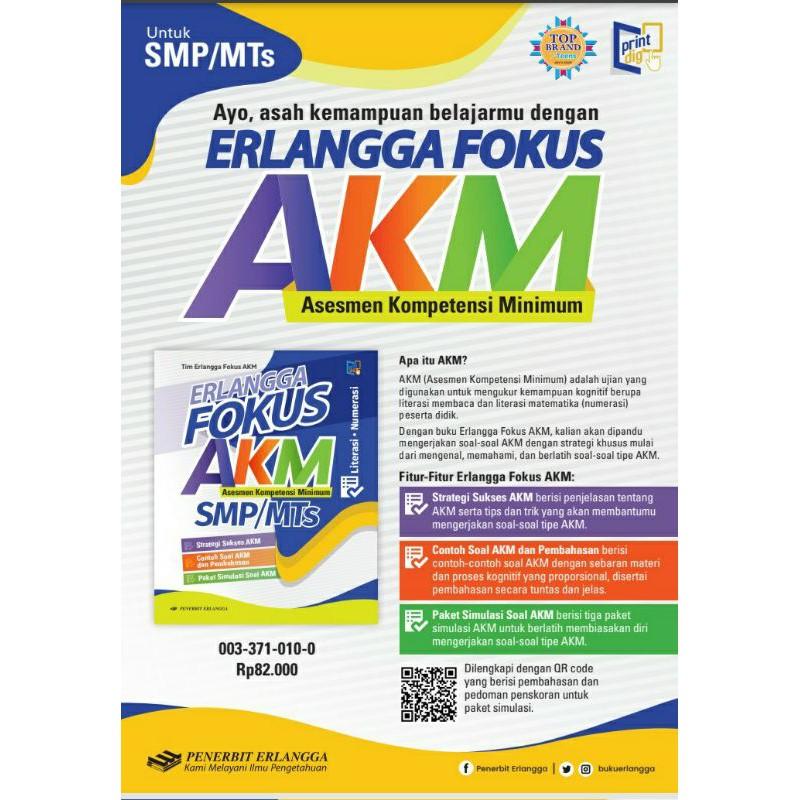Erlangga Fokus Akm Smp Shopee Indonesia