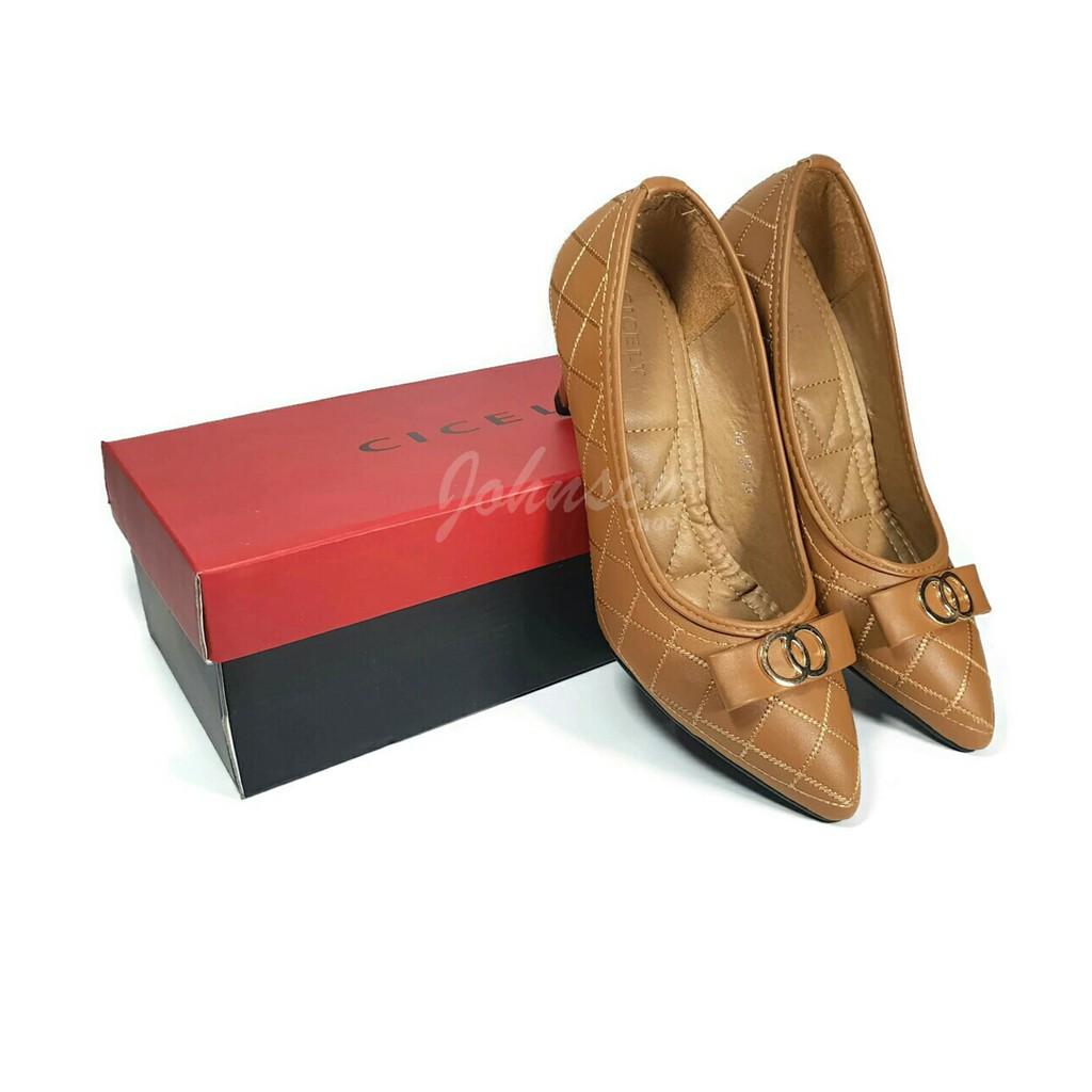 [ Johnson Shoes ] Sepatu High Heels Import Wanita 7 cm KOKOWAI - HC 512 HITAM 100% ORIGINAL Impor | Shopee Indonesia
