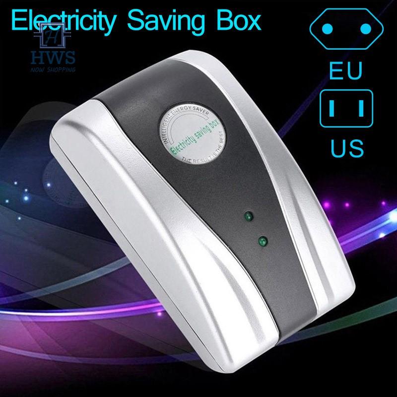 Energy Saver Power Home Electricity Saving Box Stabilize Voltage EU//US//UK Plug