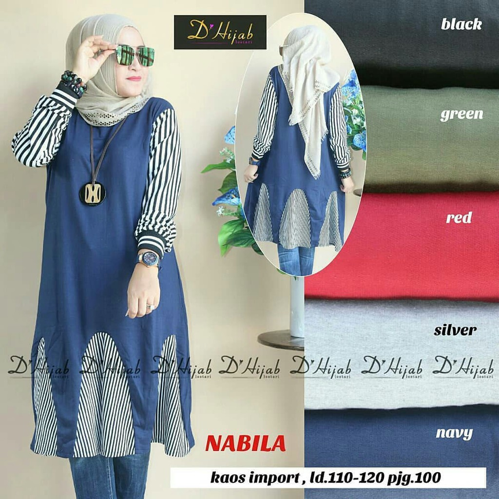 Ayesa Top All Colors by Hijab Mamah icis  21614da662