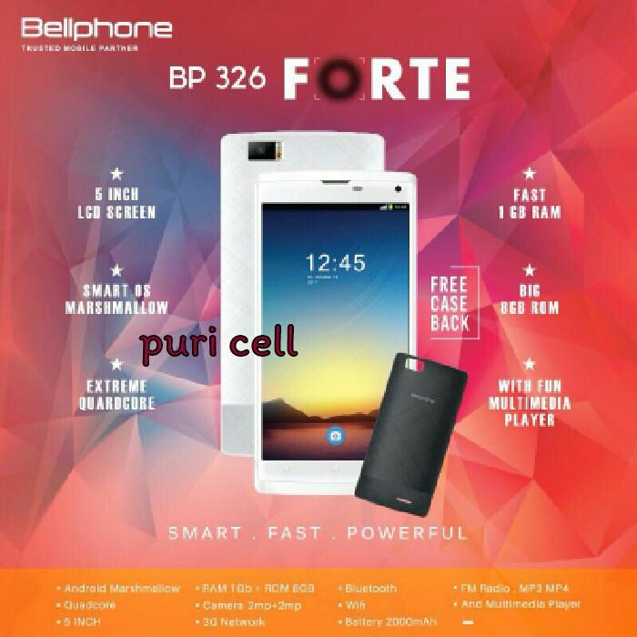 Bellphone Bp326 Forte Ram 1gb Rom 8gb