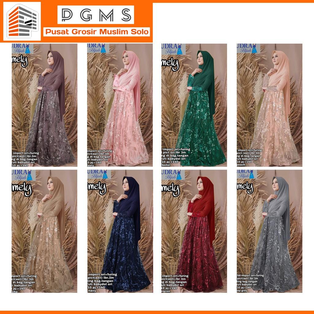 Gamis Emely Syari Original Mudra Hijab
