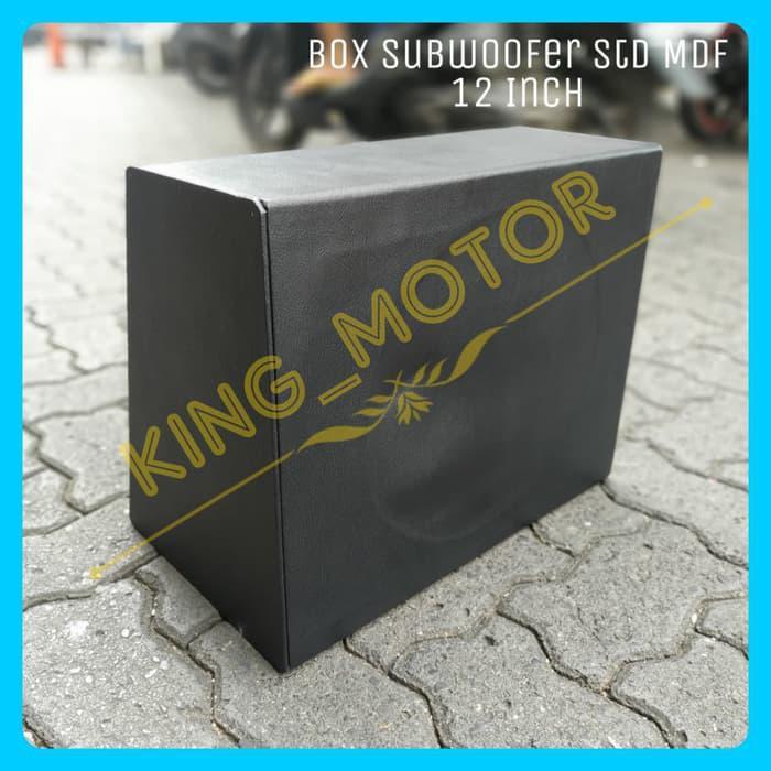 Speaker Mobil / Box Subwoofer Std Mdf 12 Inch
