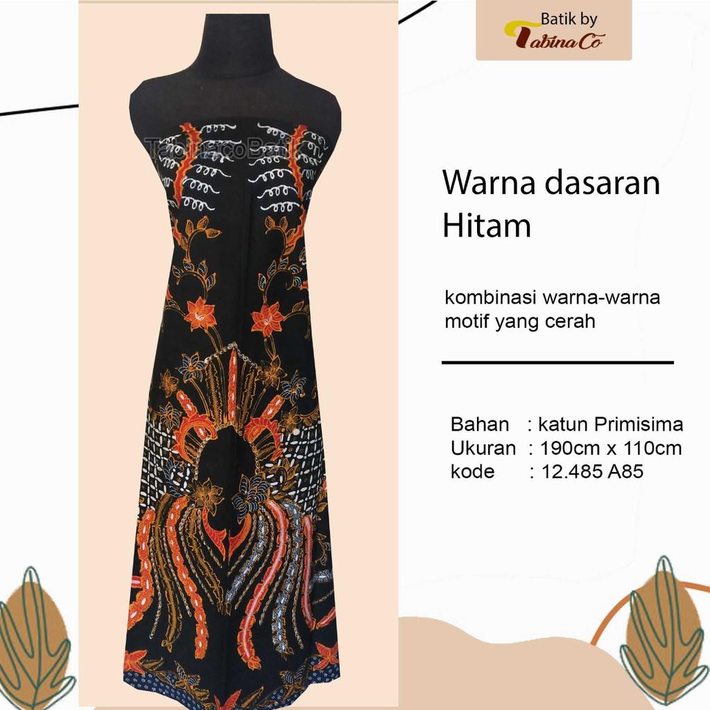 batik kombinasi warna motif cerah