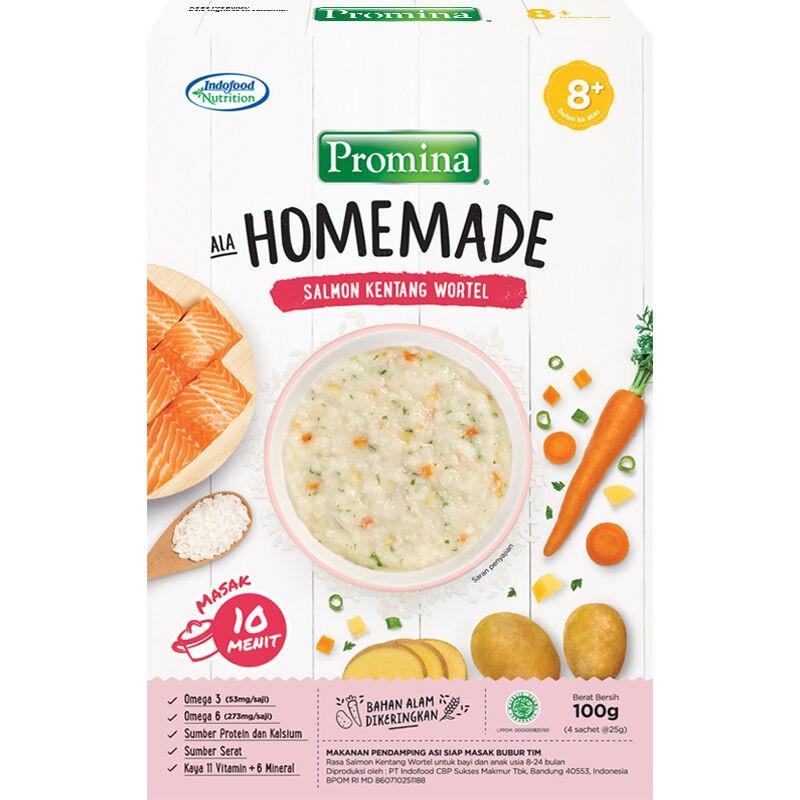 Promina 8 Homemade Bubur Mpasi Box 100gr Shopee Indonesia