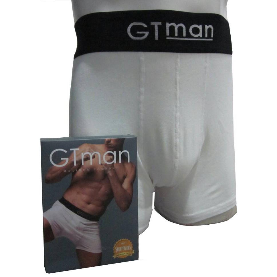 Celana Dalam Pria Gtman Boxer Gt Man Bx 02 Putih Pakaian Rpg 704 B Baju Priatna Shopee Indonesia