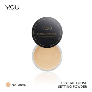 YOU Basic Collection Crystal Loose Setting powder [ Oil Control & Waterproof]