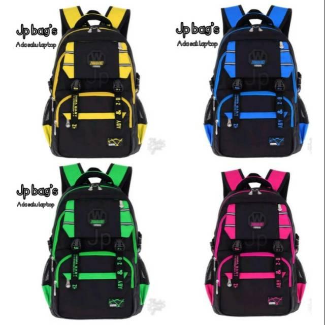 New Backpack Aprilia Tas Anak Sekolah Cewek Cowok Tk Sd