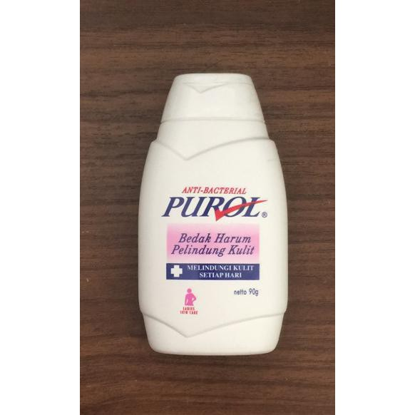 Murah Purol Pink anti bacterial powder 90 gram Pink QR0753 | Shopee Indonesia