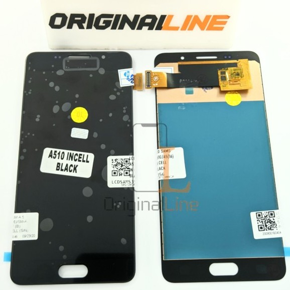 LCD + TS SAMSUNG A5 2016 / A510 / SM A510 / INCELL / TIPIS / BUKAN OLED