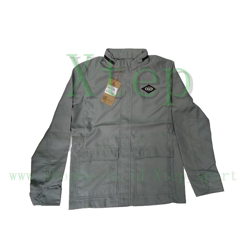 b13d2a6964a8 Jaket Pria 910003755 Windranger Jacket 1989 Grey