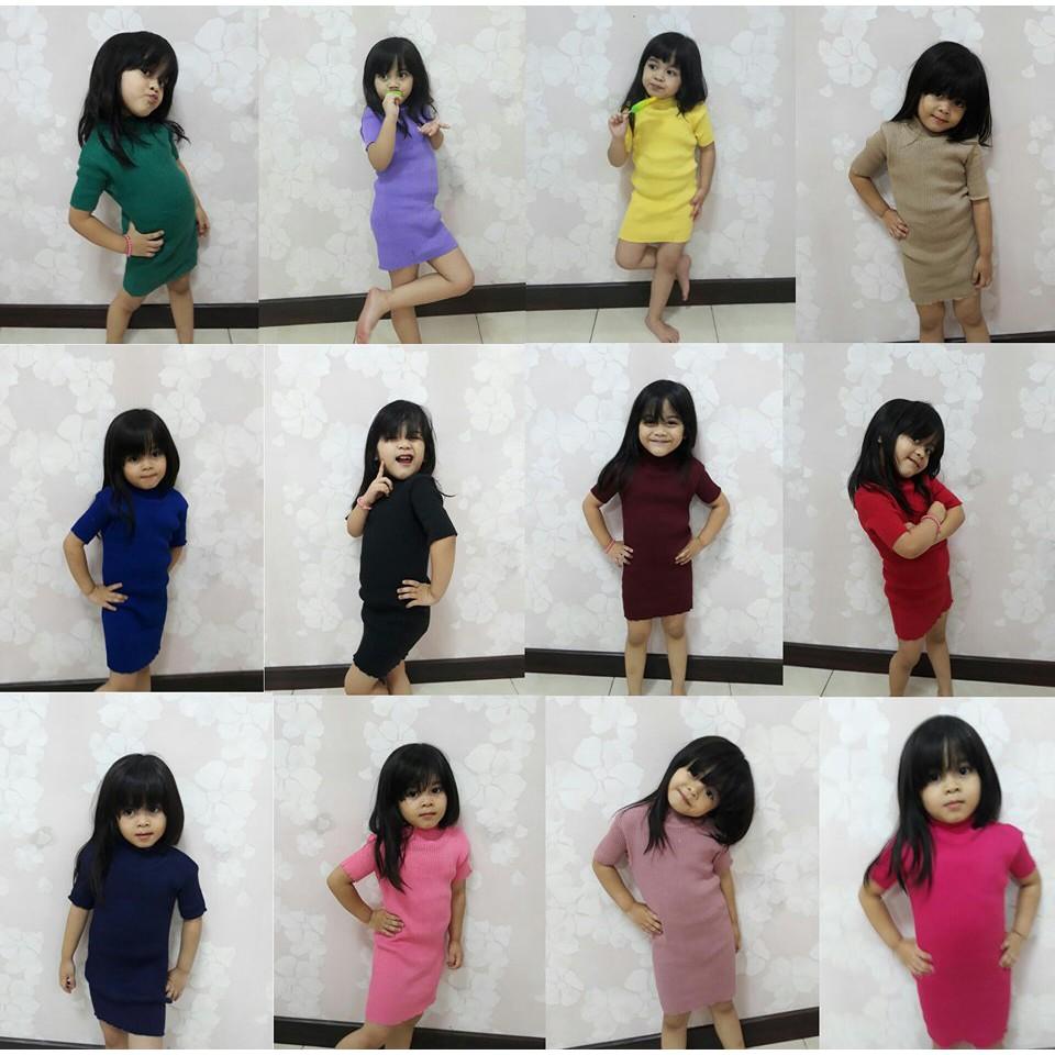Rajut anak MURAH dress anak  Baju anak  atasan anak  baju anak perempuan  Baju  rajut baju anakMURAH  b8499af98a