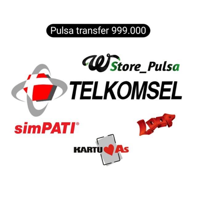 Pulsa Transfer Telkomsel 1 Juta 999 000 Shopee Indonesia