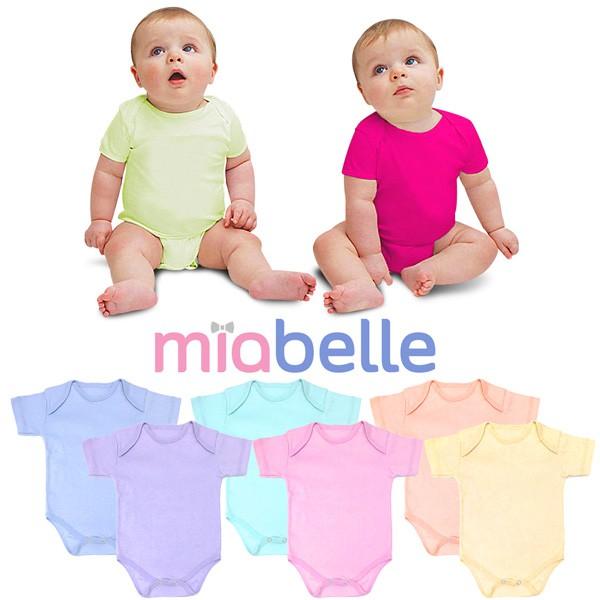 Miabelle baby bodysuit 0 6 bulan shopee indonesia