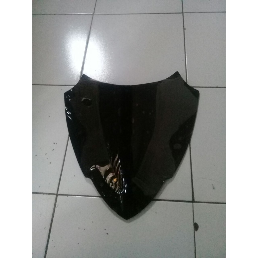 Windshield Visor Tameng Sporty Custom Yamaha Aerox 155 Pendek Nmax 40cm Shopee Indonesia
