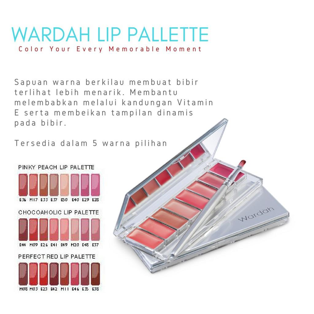 Produk Terlaris Wardah Lip Palette Shopee Indonesia Pinky Peach