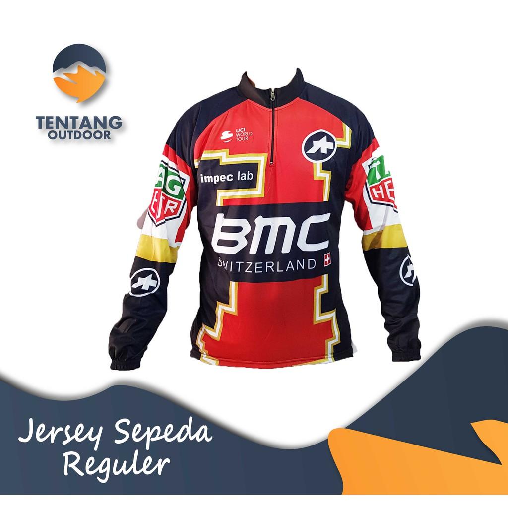 Kaos / Jersey Sepeda / Baju Lengan Panjang Balap Roadbike Scott B027 | Shopee Indonesia