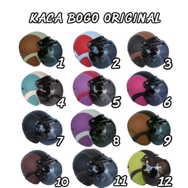 Helm retro bogo harga promo dengan kaca ori | helm bogo loreng army hitam all size bkn kyt ink agv | Shopee Indonesia