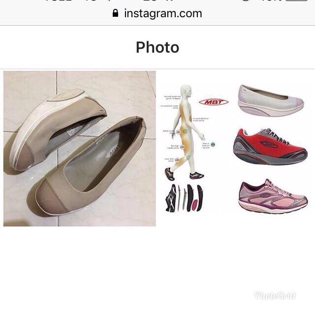 75fa8aeb72ee Mbt shoes sz 37