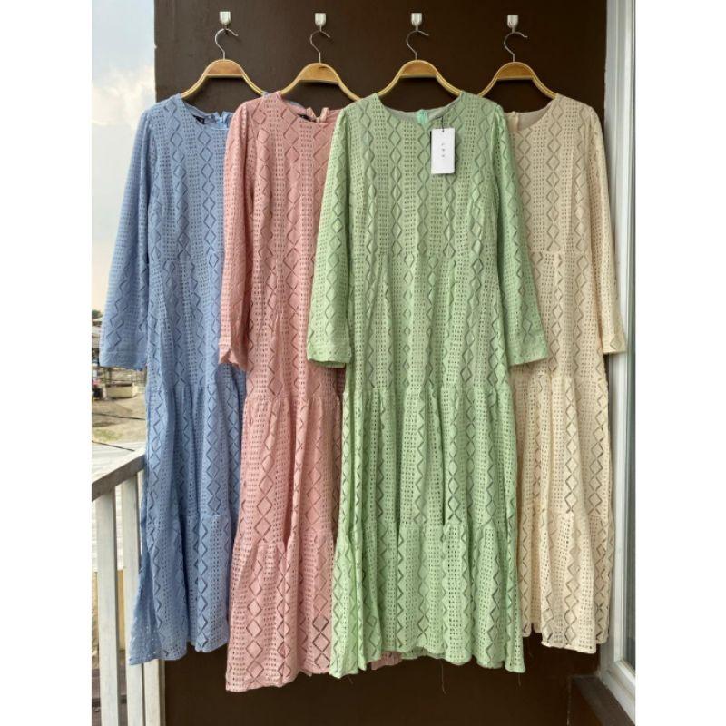 matilda maxi, gamis import bangkok, dress lafreya premium, by lfy