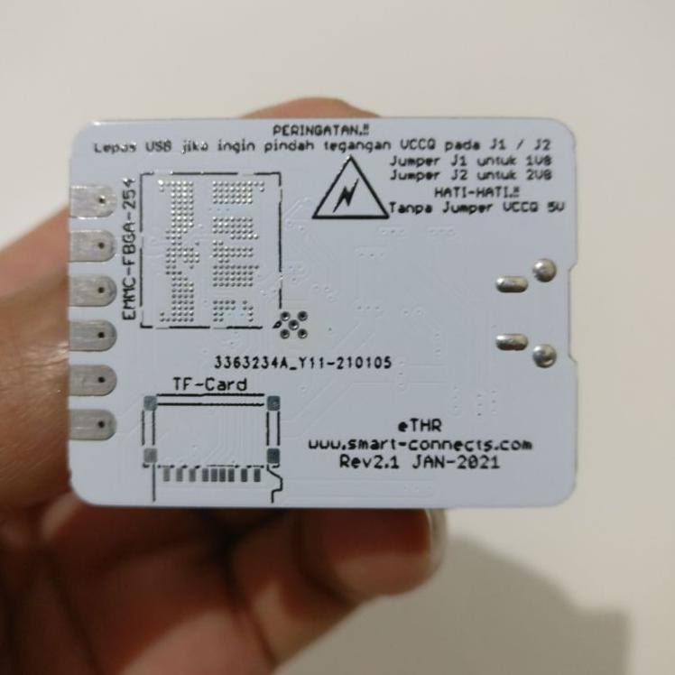 eTHR pengganti Eip Tool universal direct isp emmc Reader untuk remove pola frp oppo vivo realme (ART