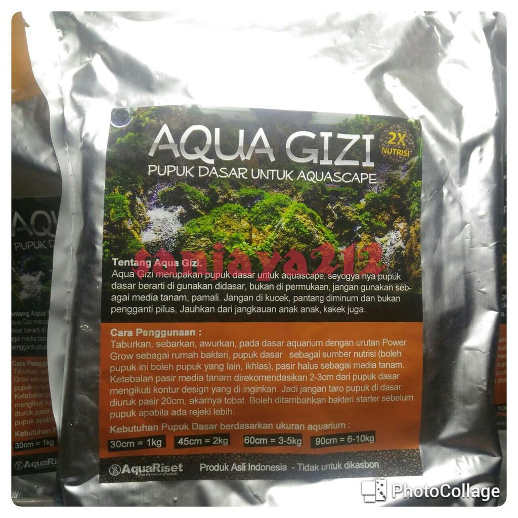 Pupuk Dasar Aquascape Aquagizi 1 kg