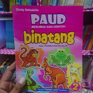 Buku Anak Paud Contoh Dan Mewarnai Sj Shopee Indonesia