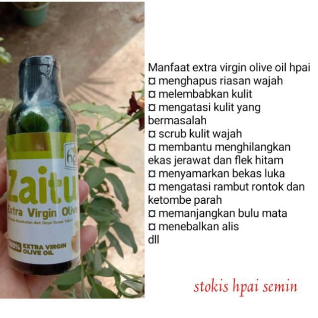 Cod Minyak Zaitun Hpai Original Extra Virgin Olive Oil Grade A Dc Hni Gunungkidul Shopee Indonesia
