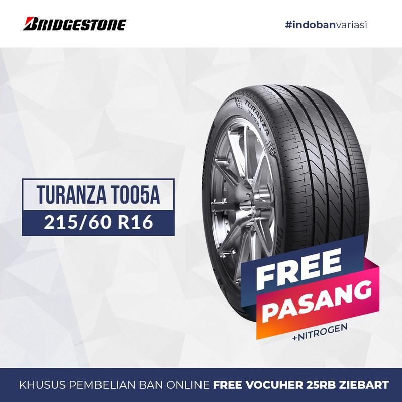 Ban Bridgestone TURANZA T005A 215/60 R16 95V
